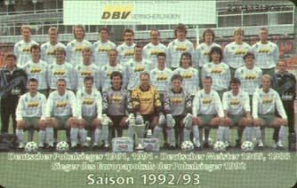 BL 92//93 SV Werder Bremen Hamburger SV